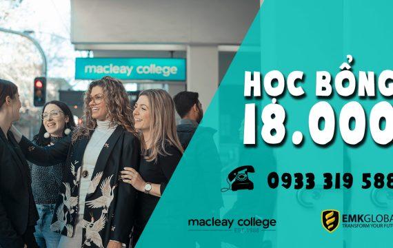 Trường cao đẳng Macleay College – Học bổng 18.000 AUD
