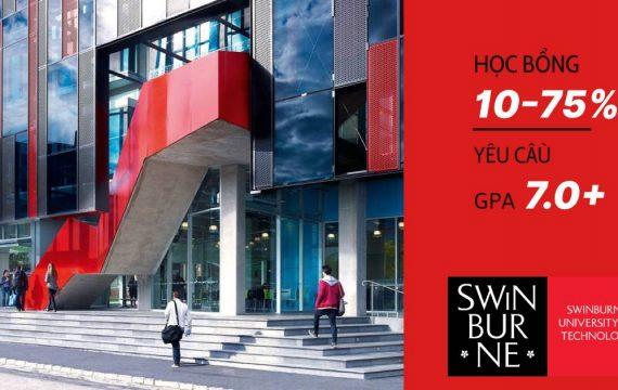 Apply đi, chờ chi- Học bổng lên đến 75%- Đại học công nghệ Swinburne